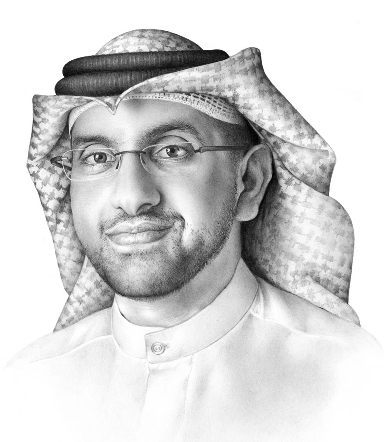 Male Portrait With Glasses