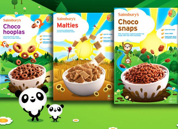 Sainsburys Cereals