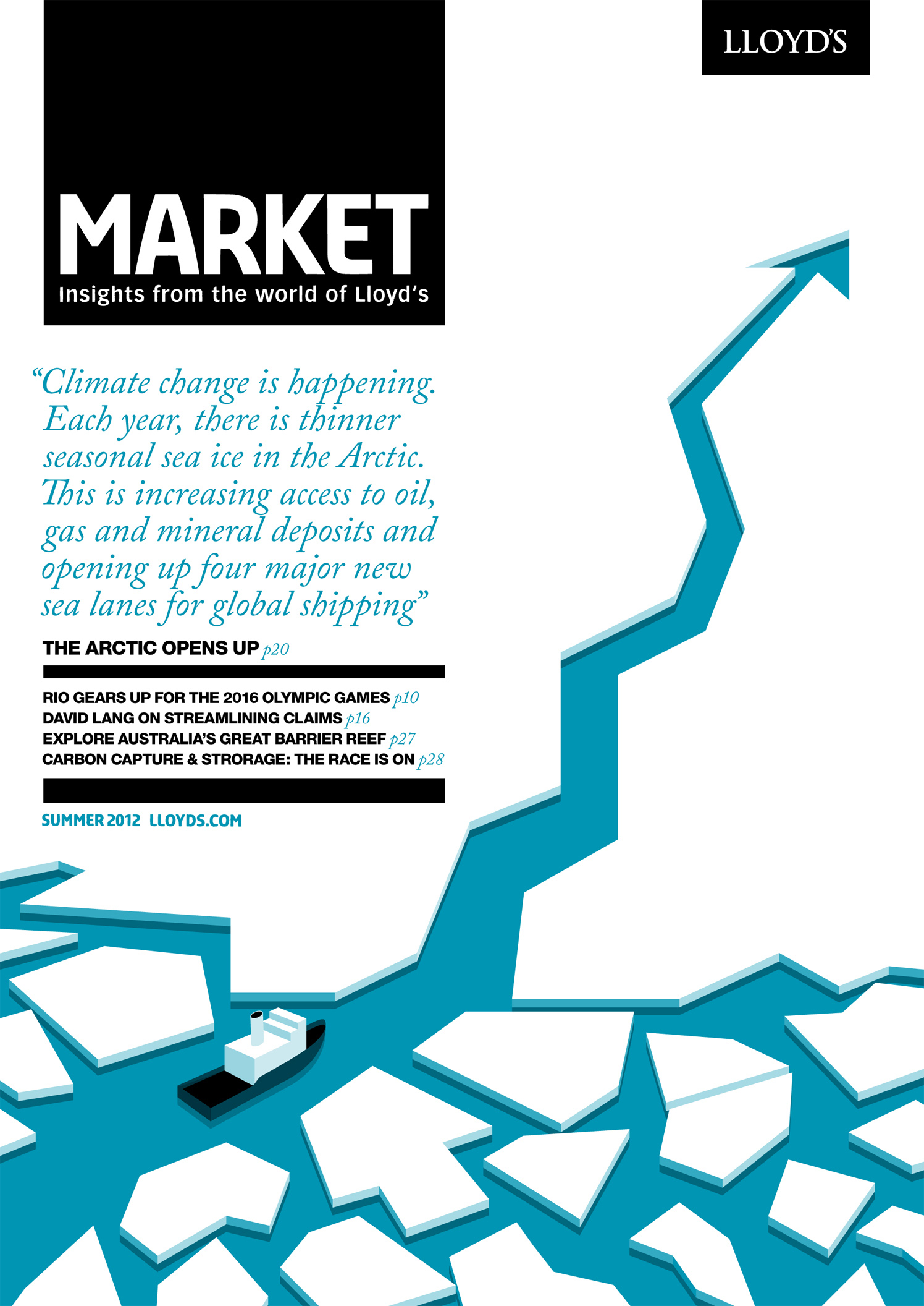 Through The Ice / Lloyd's Market Magazine