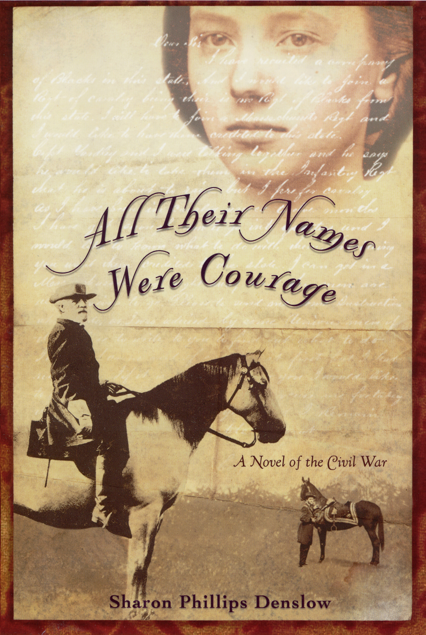 All Their Names Were Courage Sharon Phillips Denslow Harper Collins