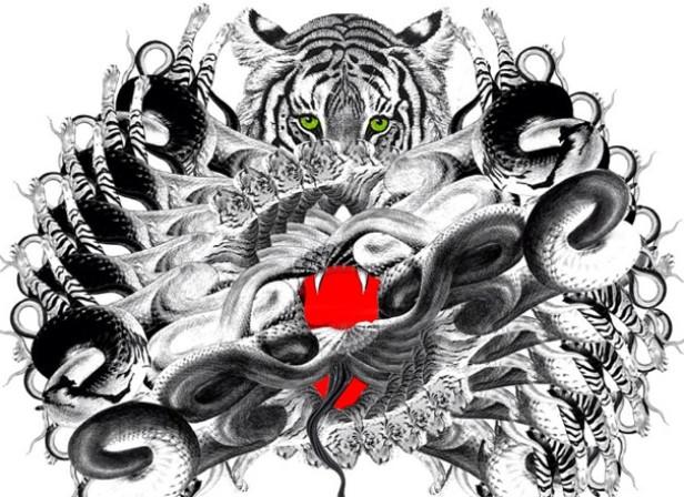 Tiger Snake Crest