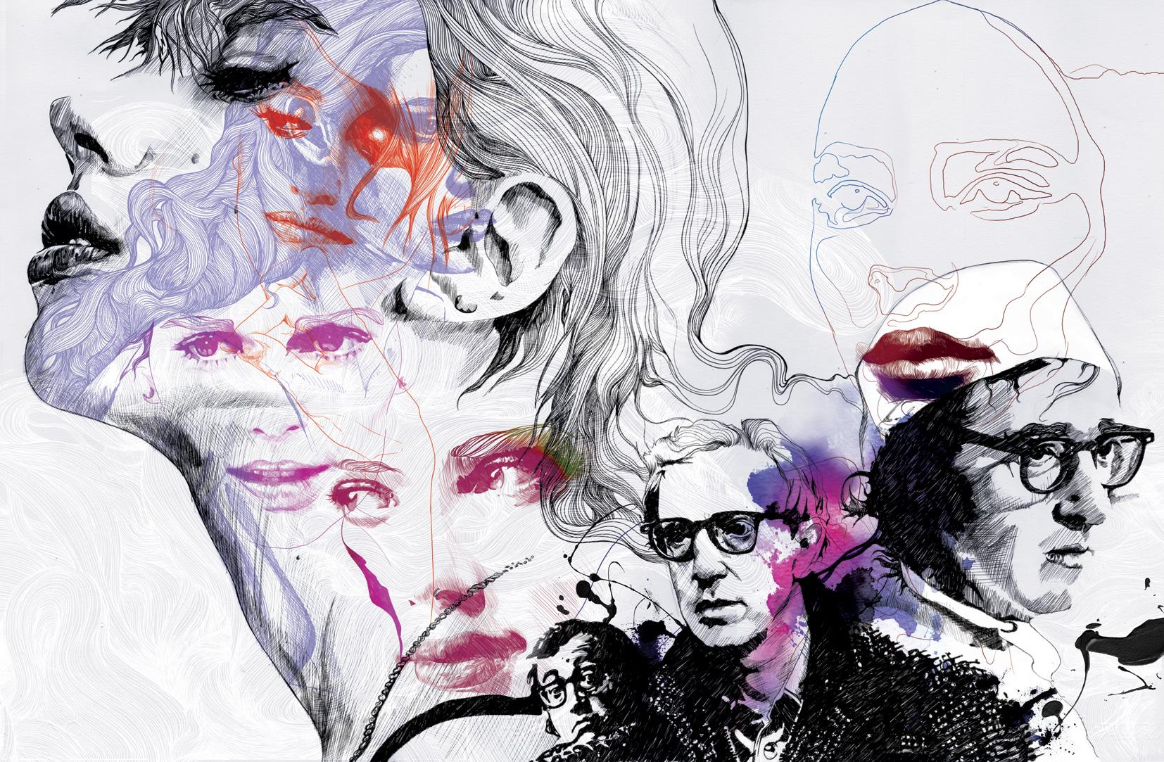 Neo2 Woody Allen Editorial