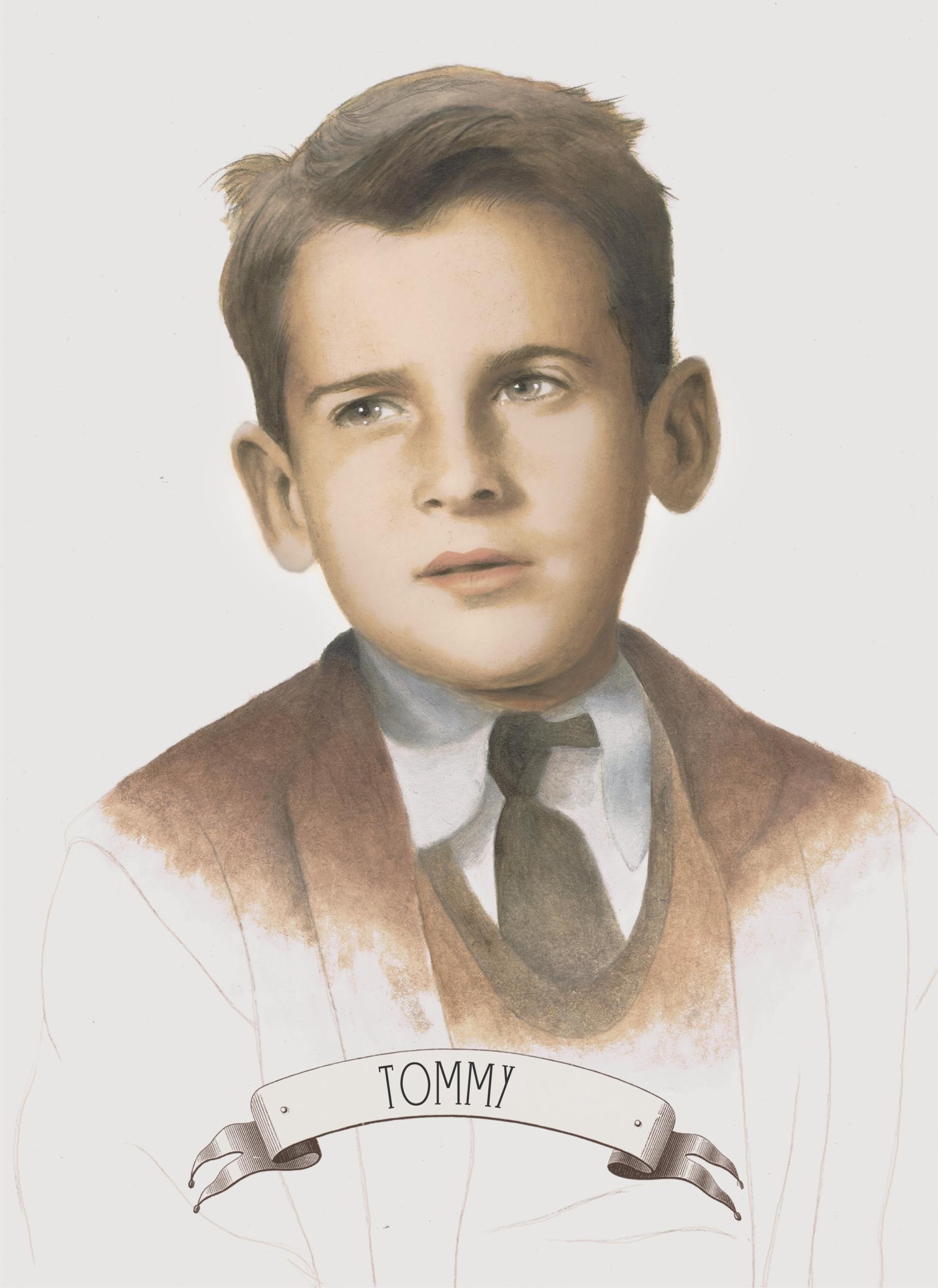 Tommy Portrait / Baron Rojo