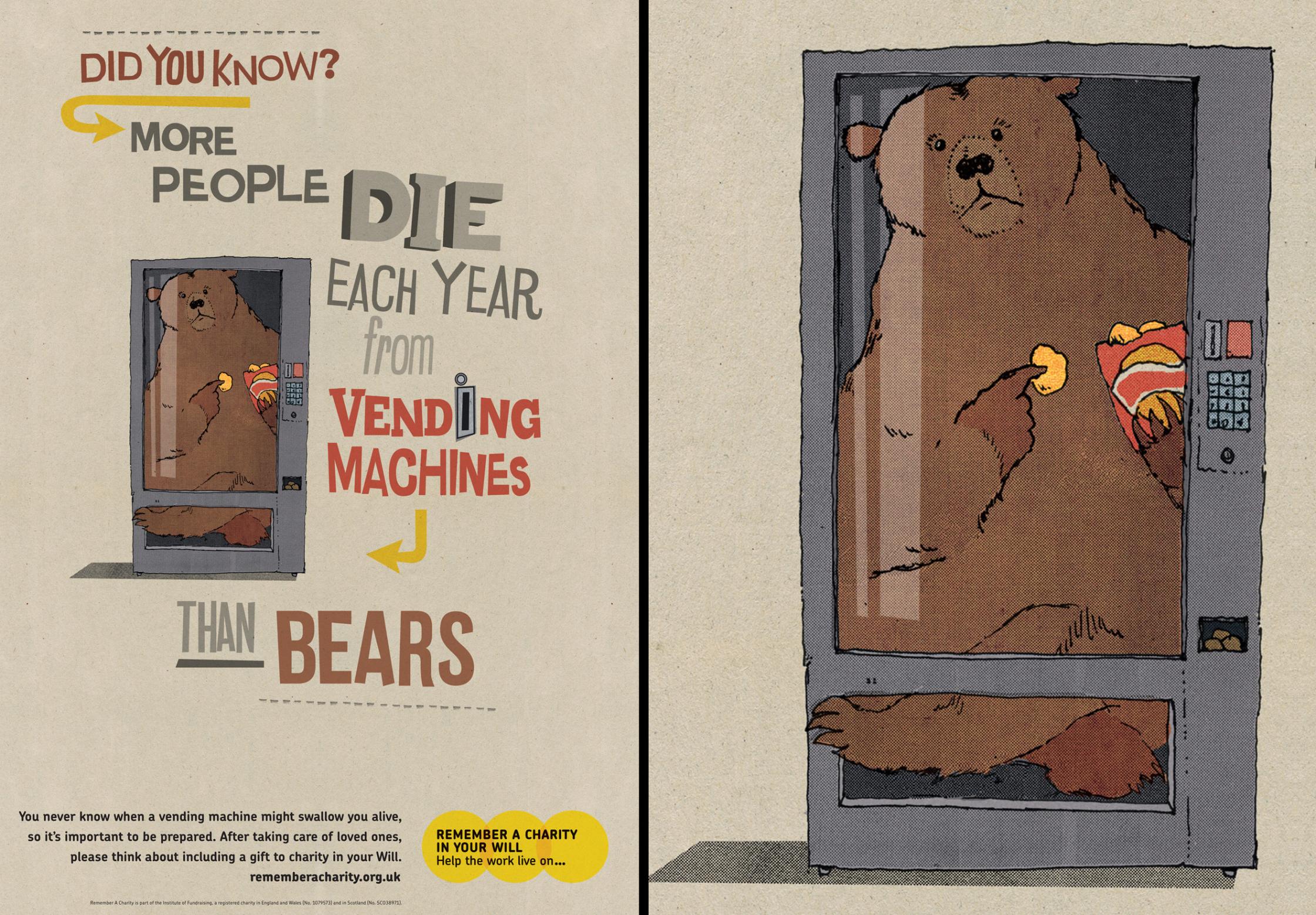 Vending Machine Bear