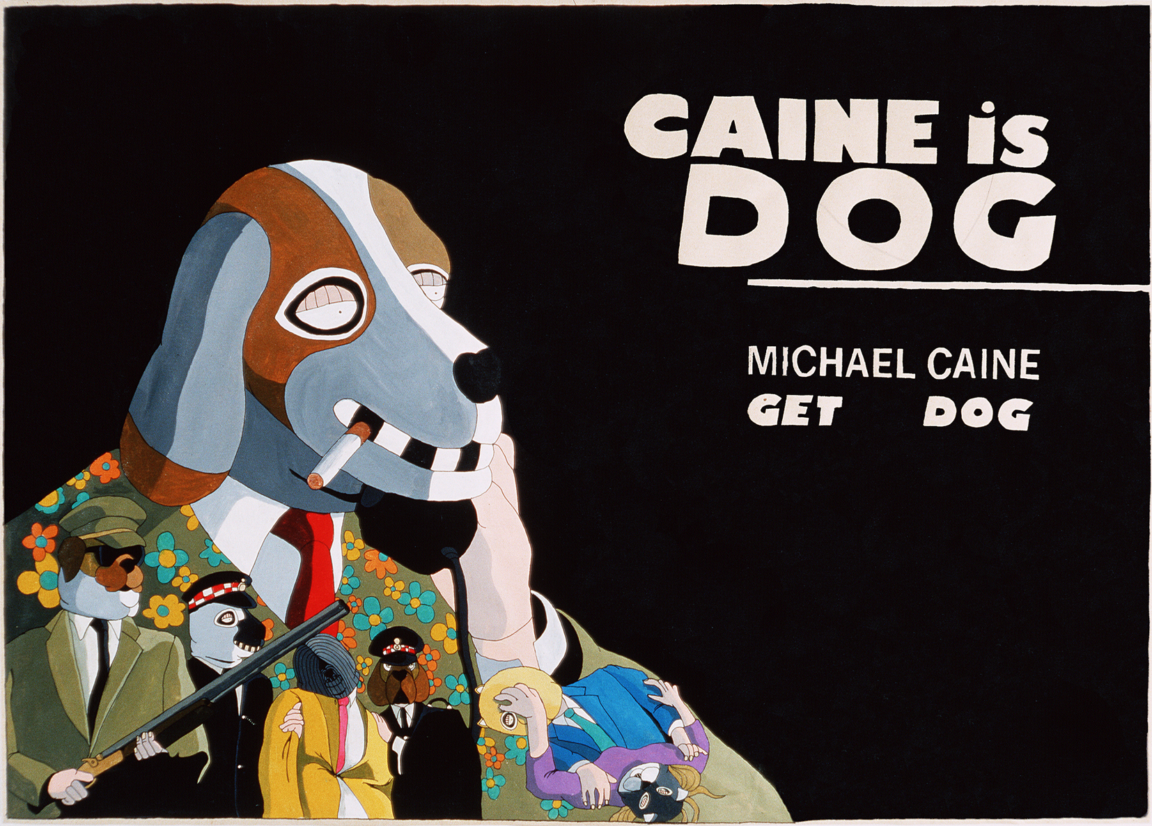 Caine Is Dog