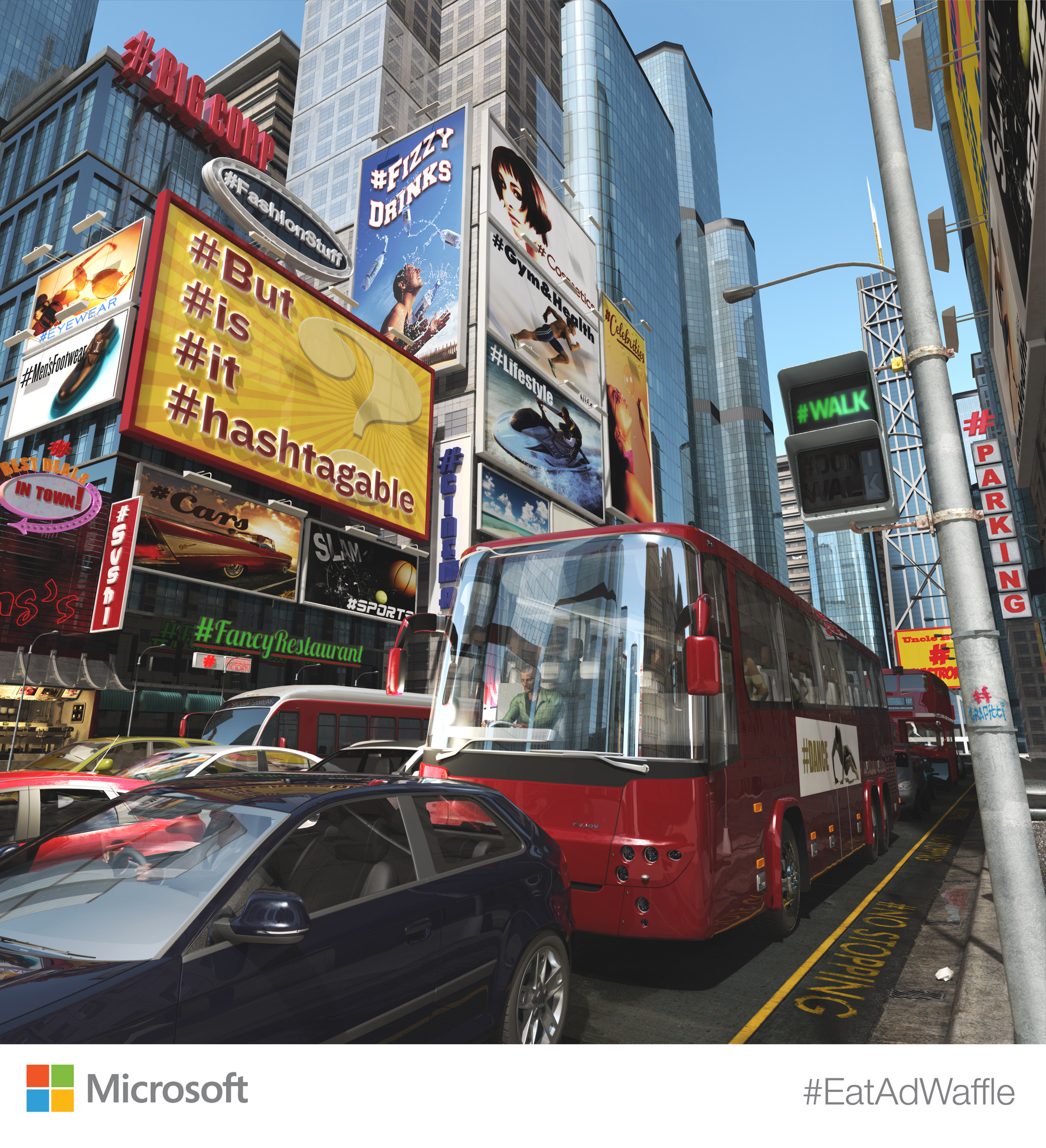 Hashtagable / Microsoft UK