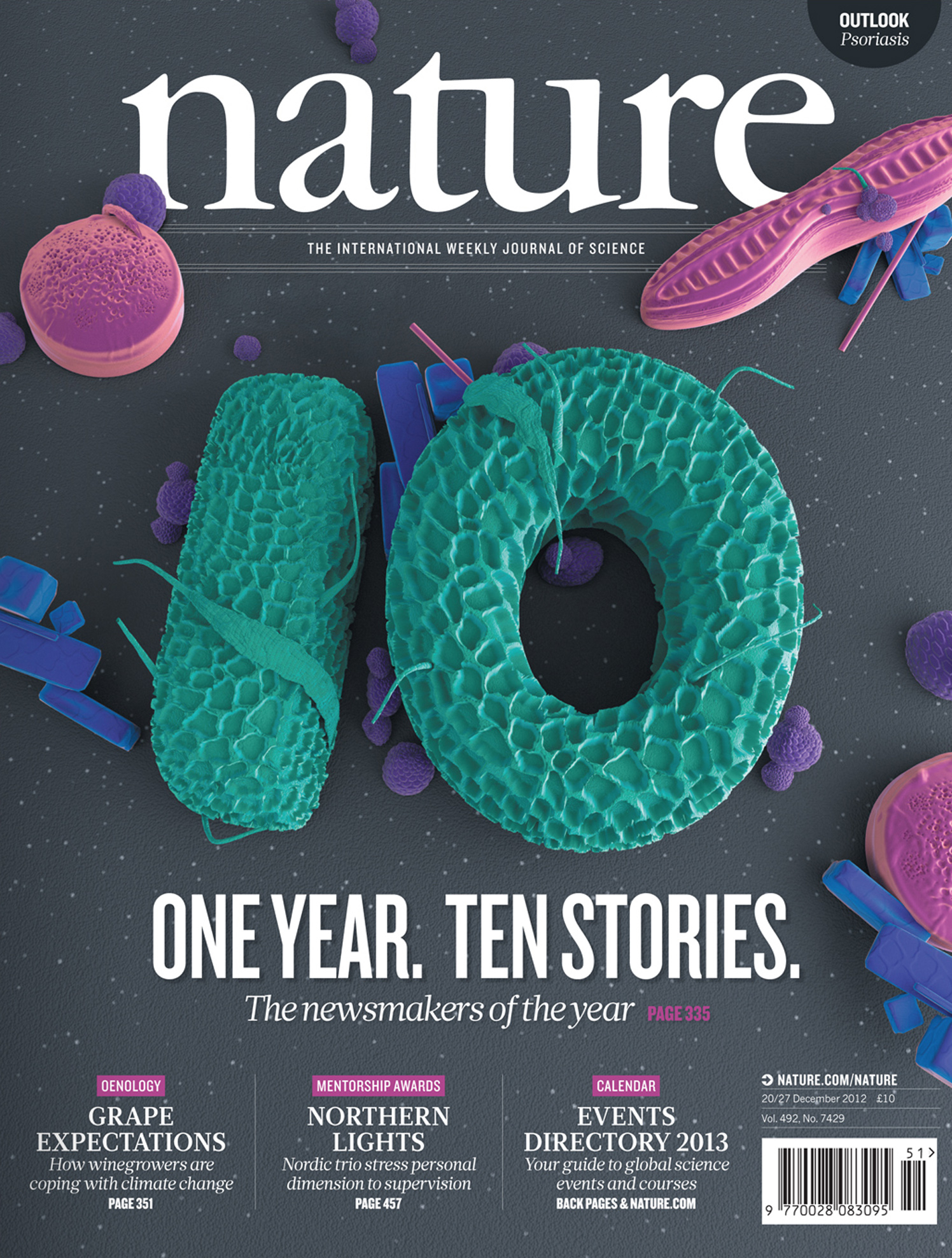 One Year, Ten Stories / Nature Magazine