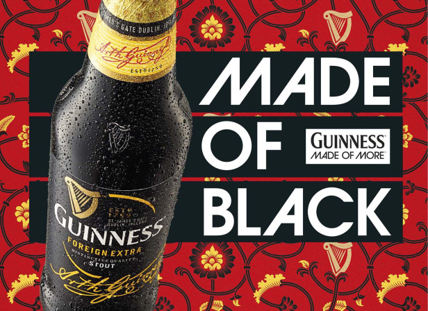 Guinness Made of Black