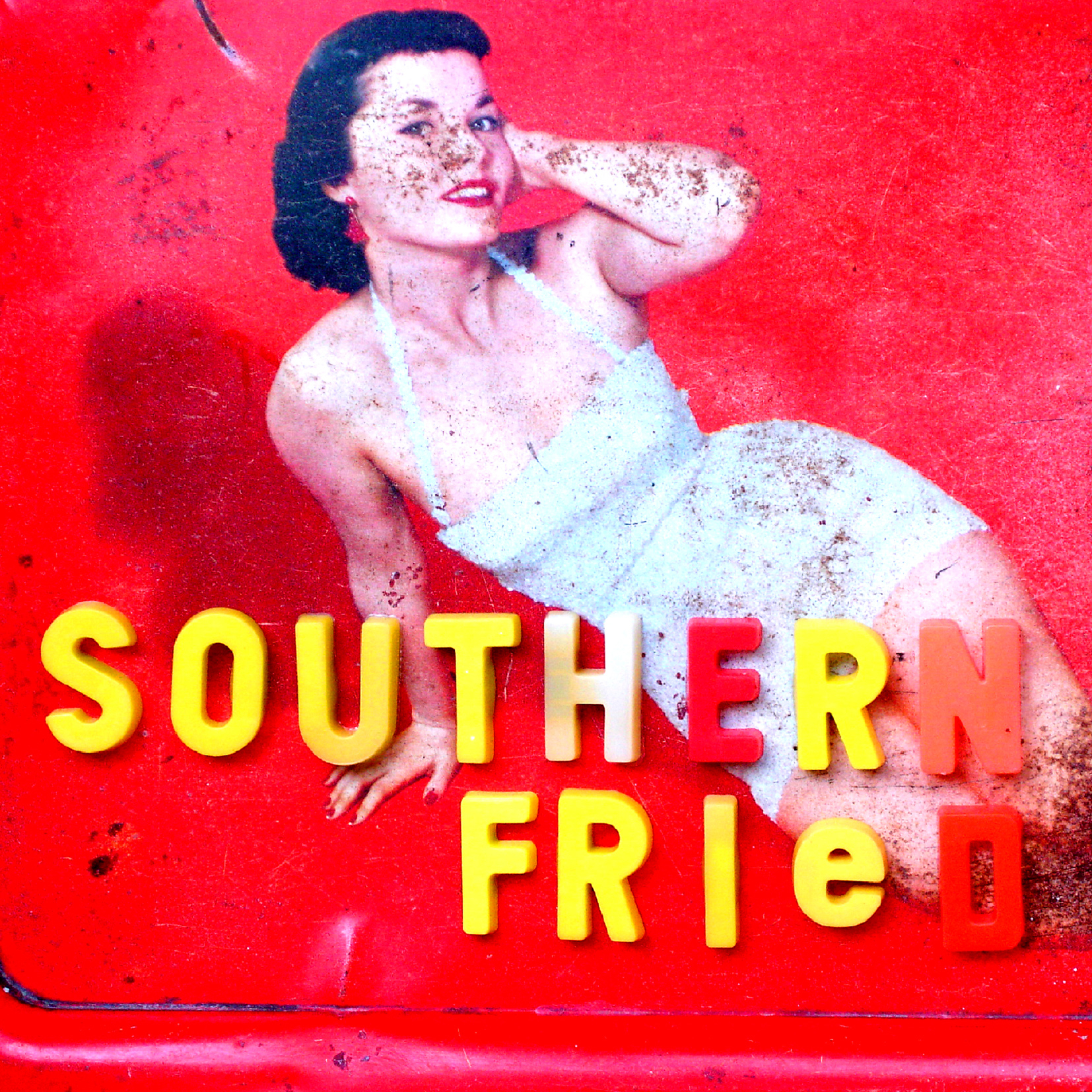 Southern Fried Records Vintage Pinup 3D