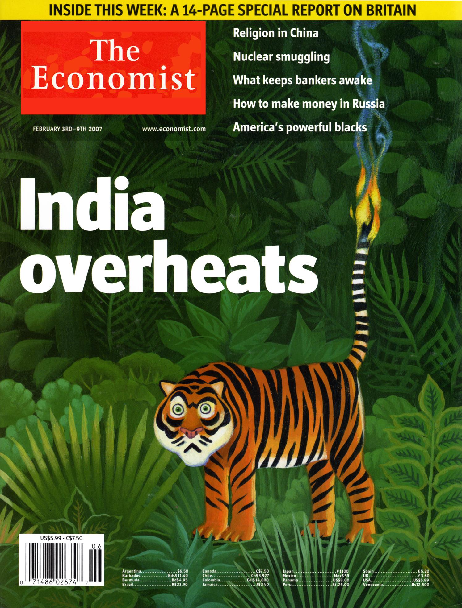 India Overheats / The Economist