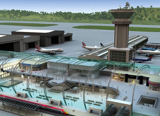 BAA Airport Buildings Diagram