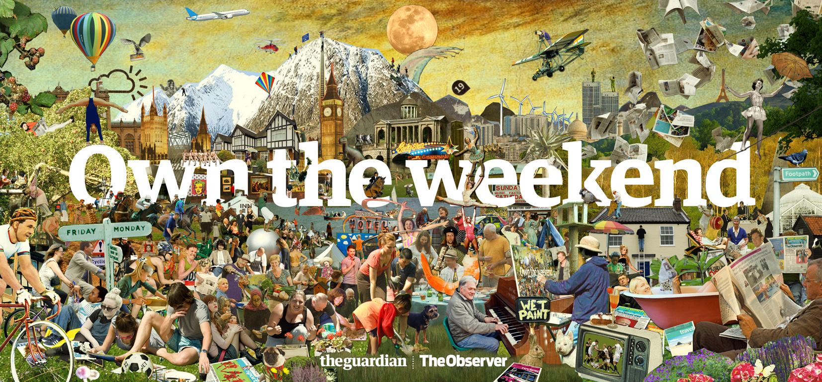 Own The Weekend 48 Sheet / The Guardian