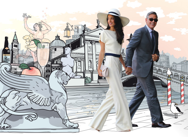 Clooney In Venice / Jetaway Travel Magazine