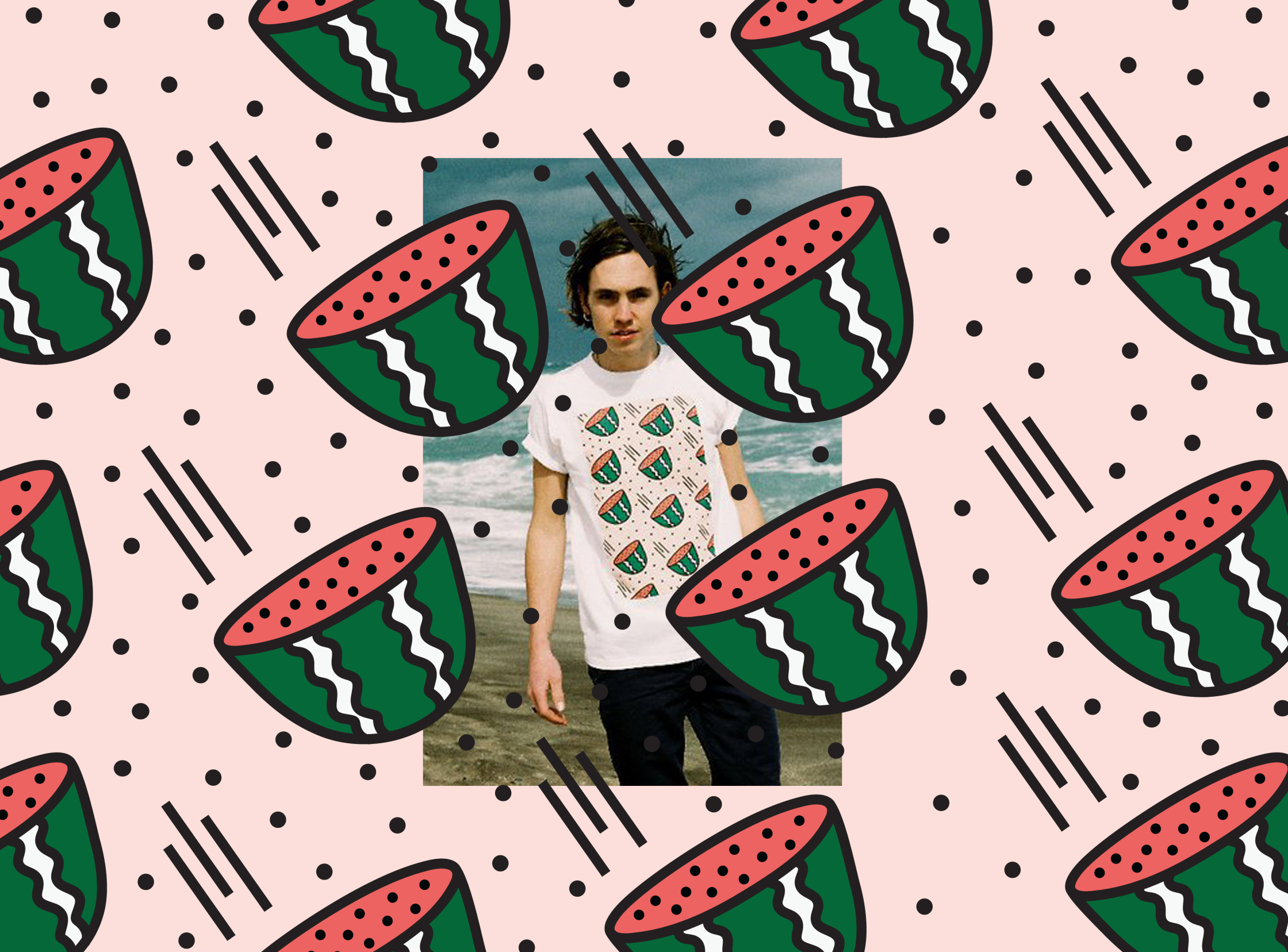 Flying Watermelons / Lazy Oaf