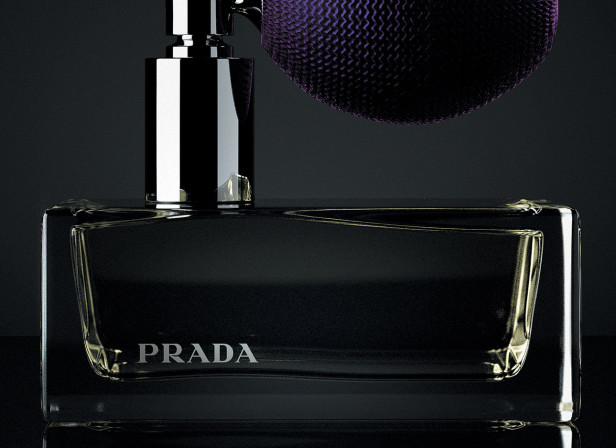 Prada Perfume Bottle