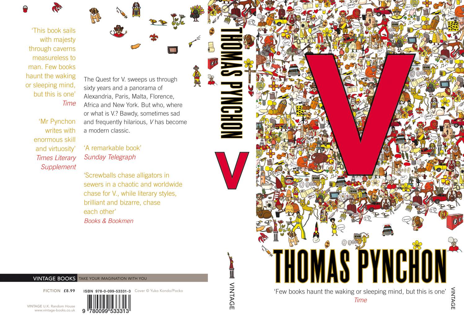 Thomas Pynchon  V Cover