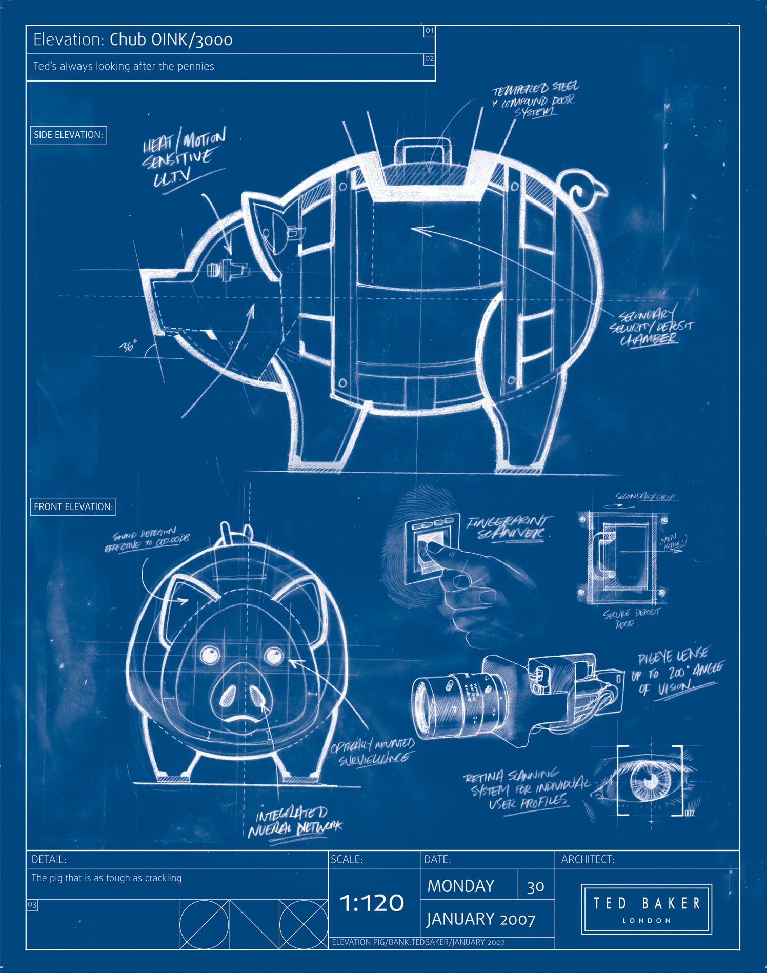 Ted Baker Piggy Blueprint