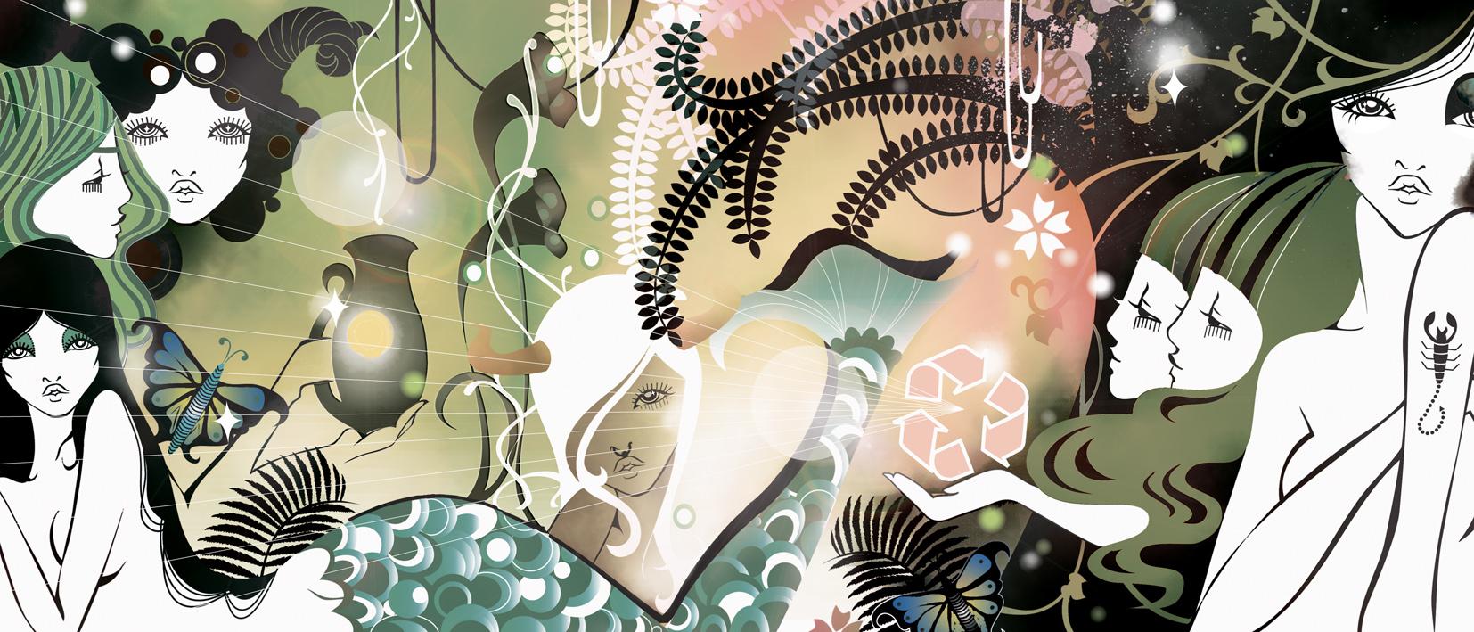 Sunday Times Newspaper Style Magazine Horoscope Eco Utopia