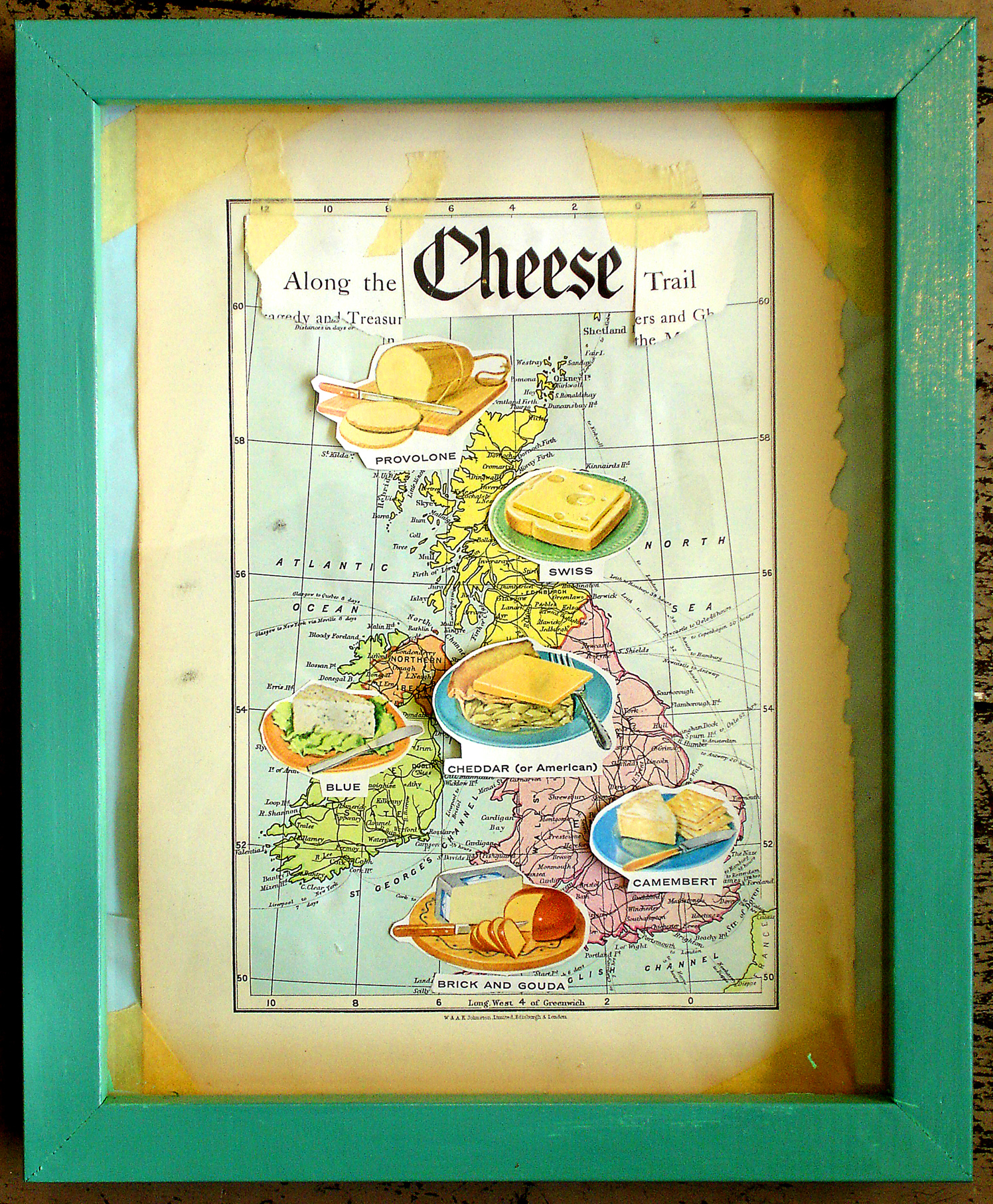 UK Cheese Map