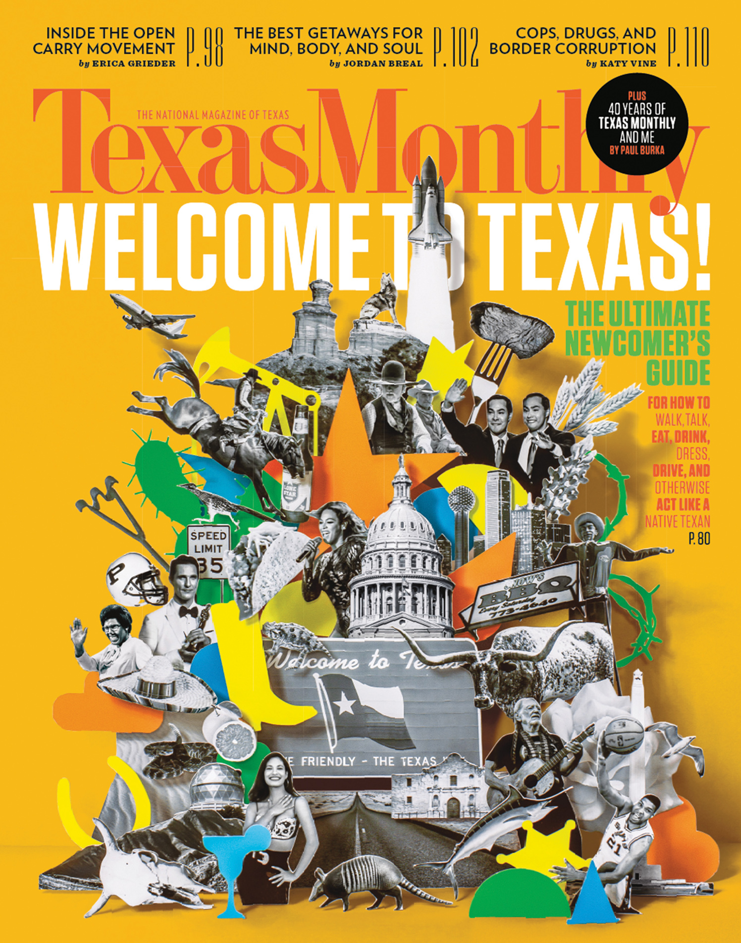 Welcome To Texas / Texas Monthly