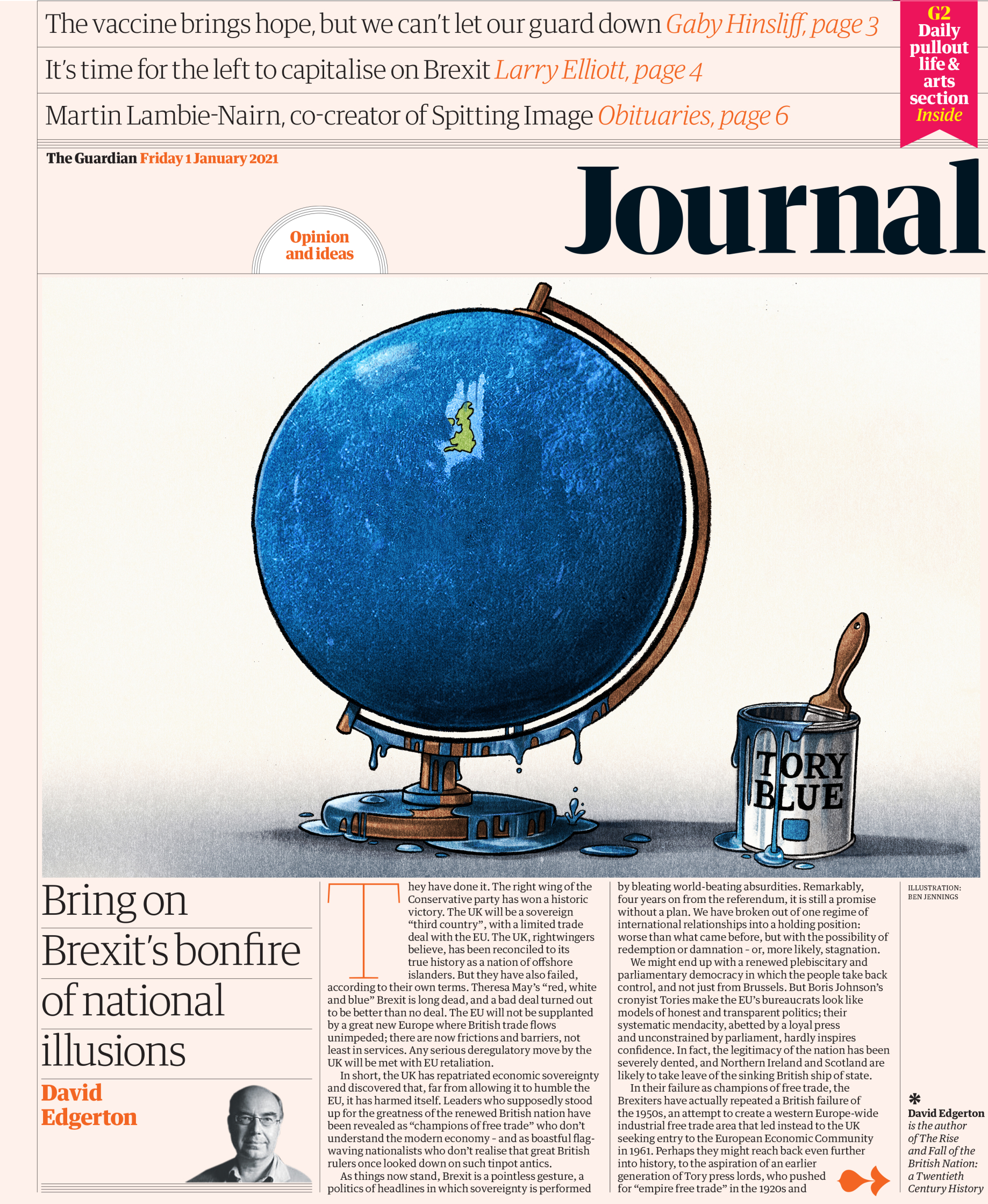 The Guardian � Journal front � 1 January 2021.jpg