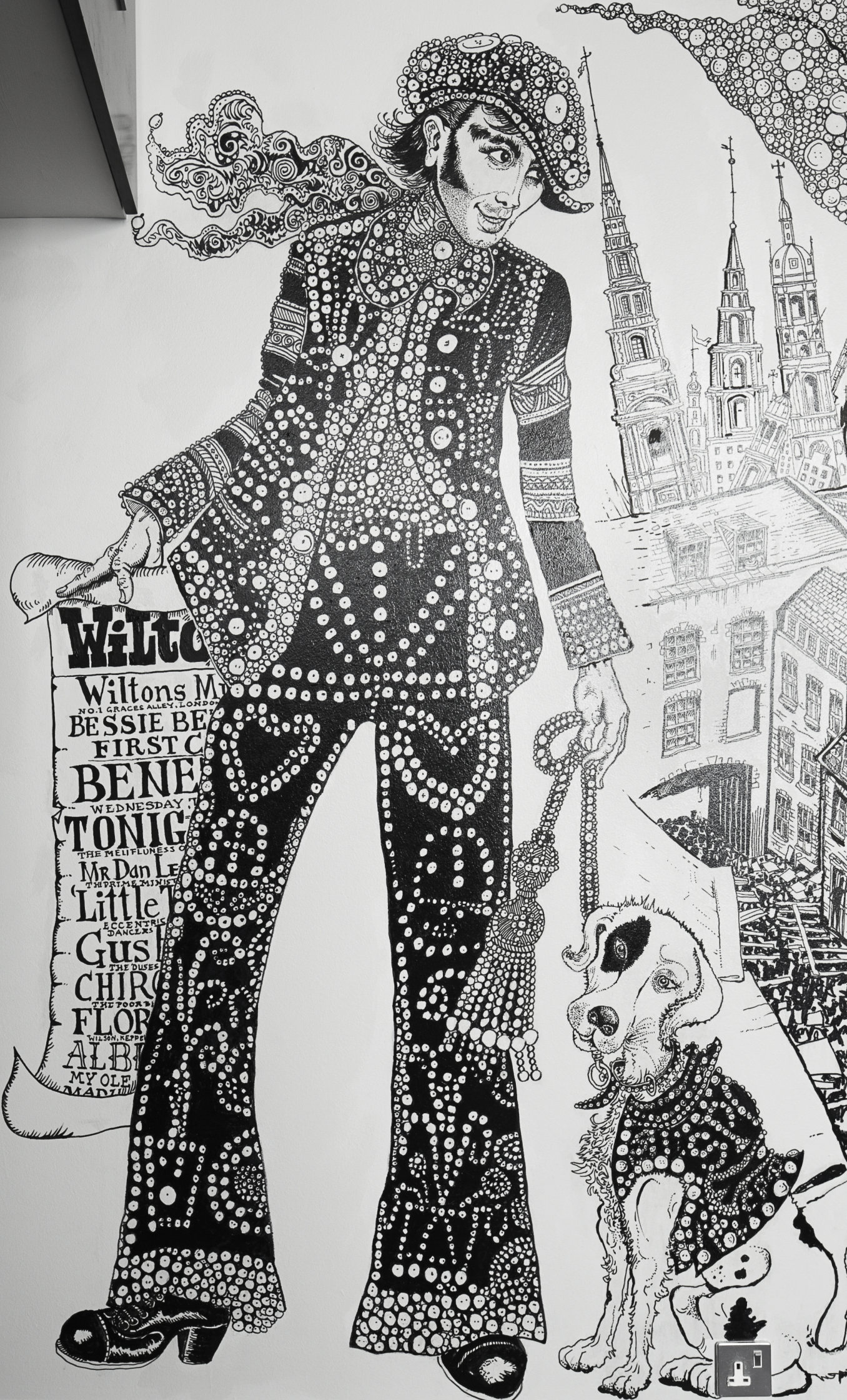 Andaz Hotel Pearly King Mural