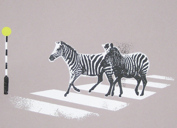 zebra_crossing_funny_humerous_zebras_screenprint_katie_edwards_illustration_art.jpg