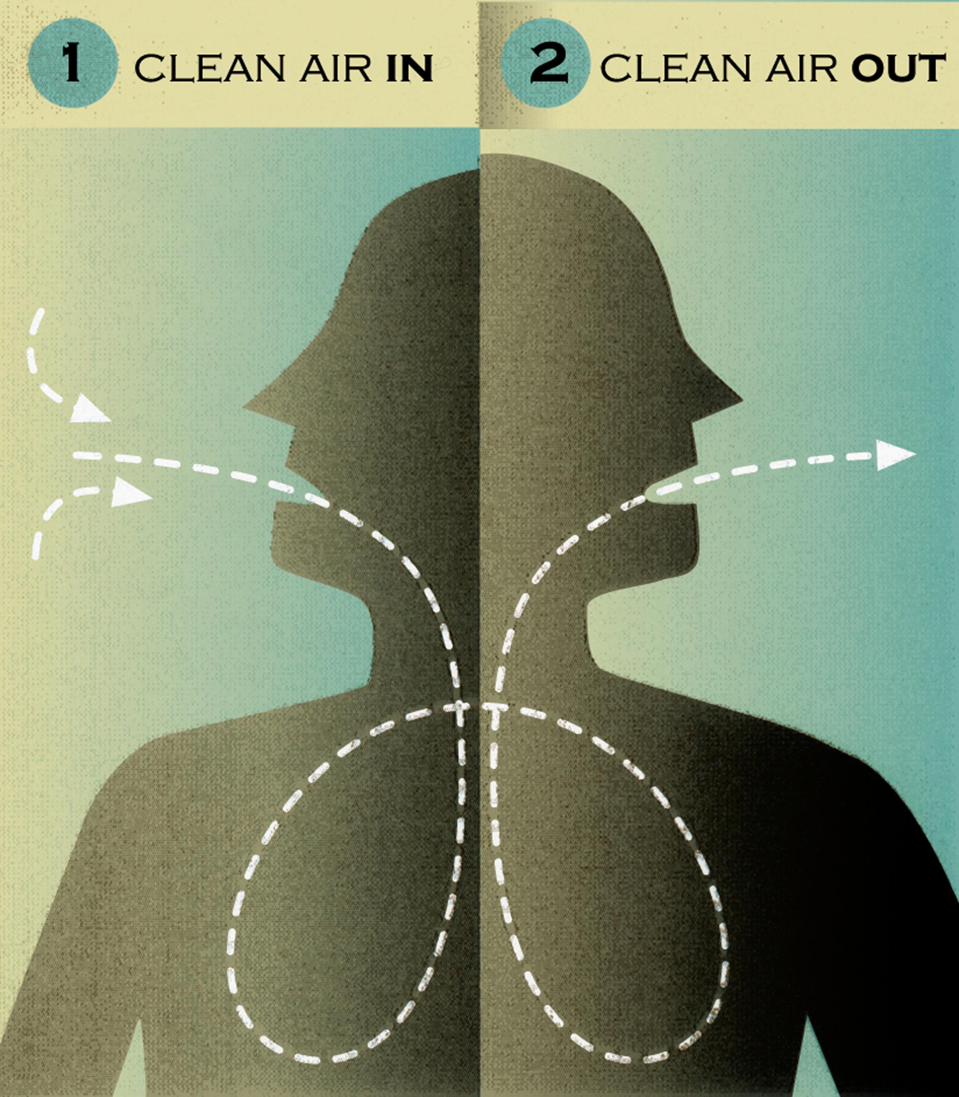 Clean Air In Clear Air Out