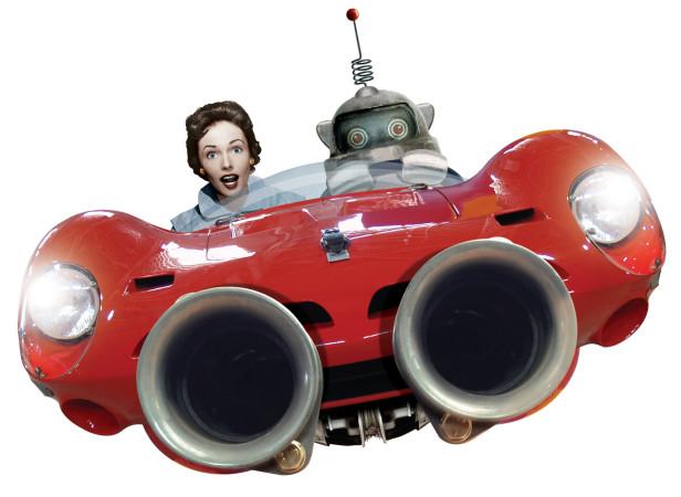 Robot Cars NY Times