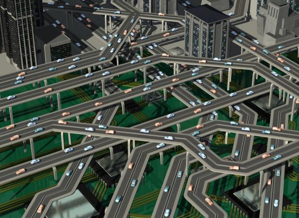Internet Traffic Circuit Board