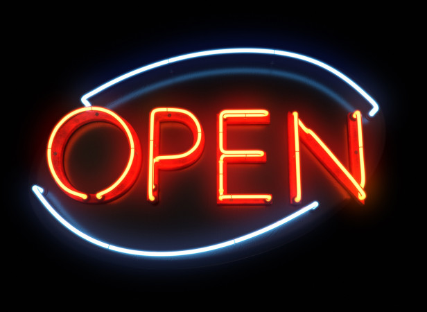 Open Neon Light 3D Type