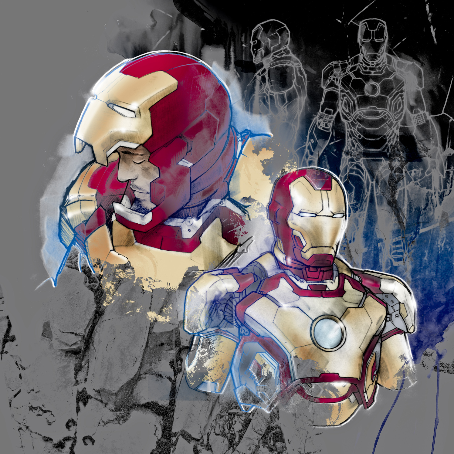 Iron Man Mark 7 Armour