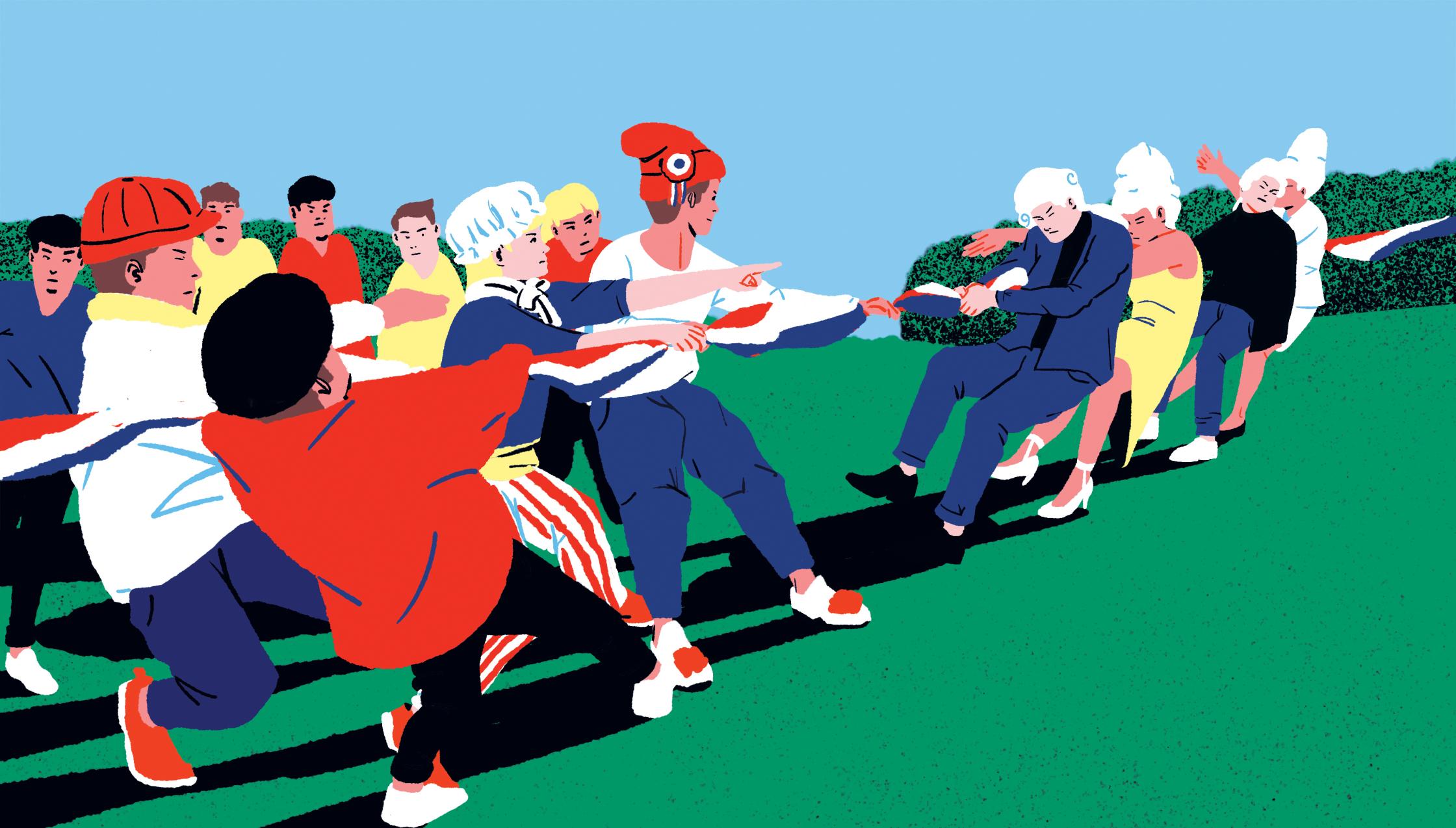Illustration for L'hémicycle Megazine 01.jpg