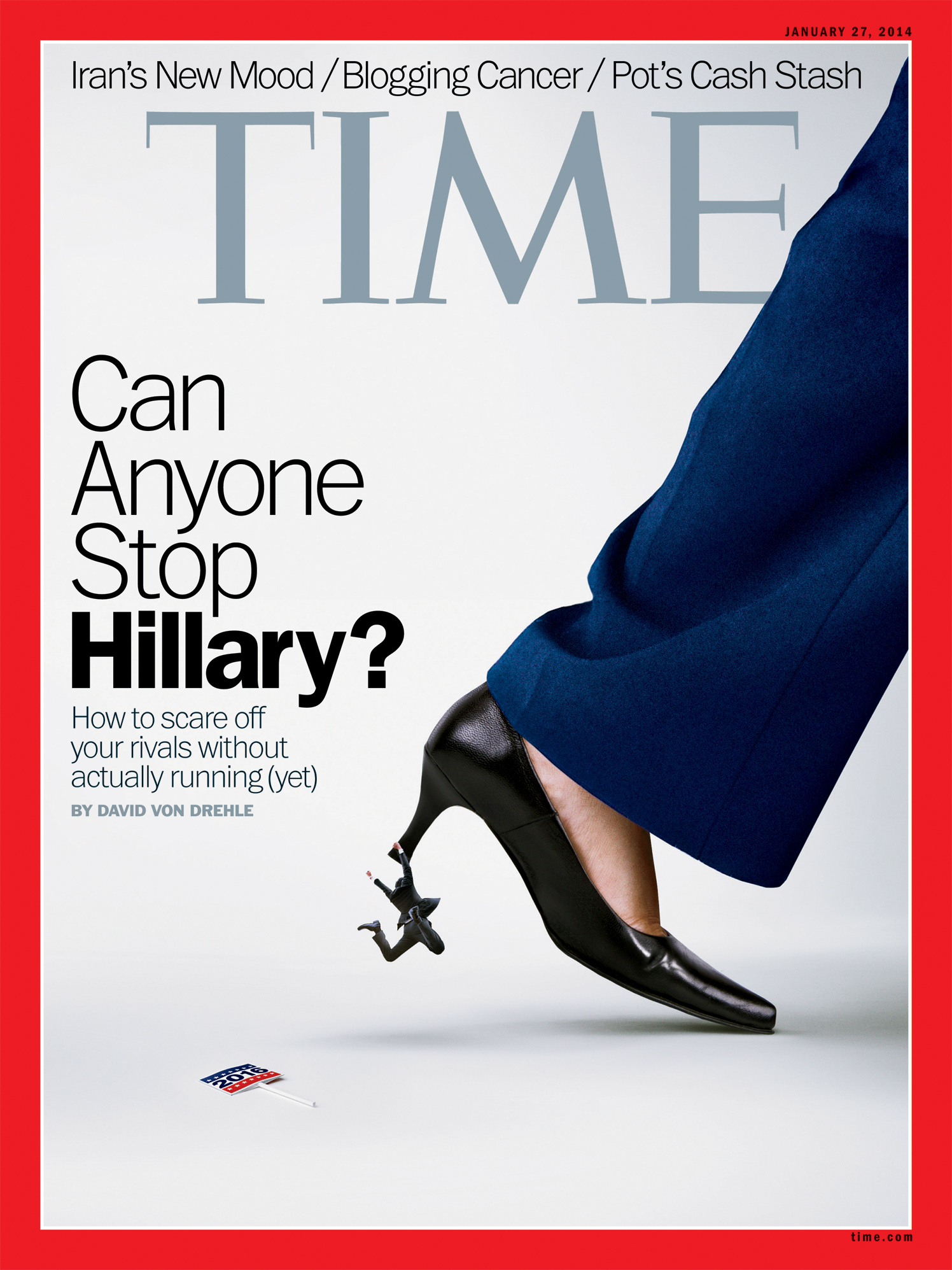 Can Anyone Stop Hillary? / TIME