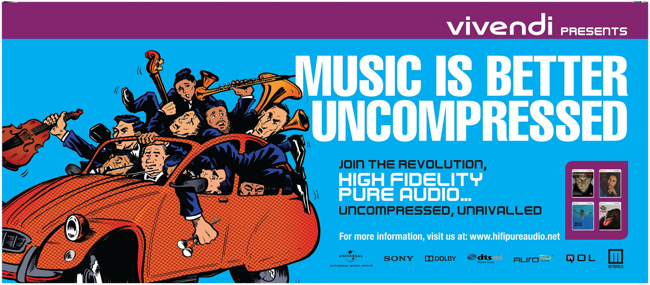 Music Is Better Uncompressed Vivendi UMusic