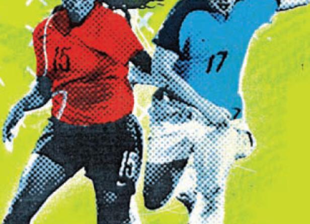 Olympics Football Stamp