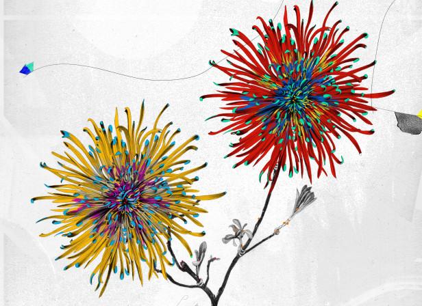 Lunar Tribes Moon Flowers Lunartis