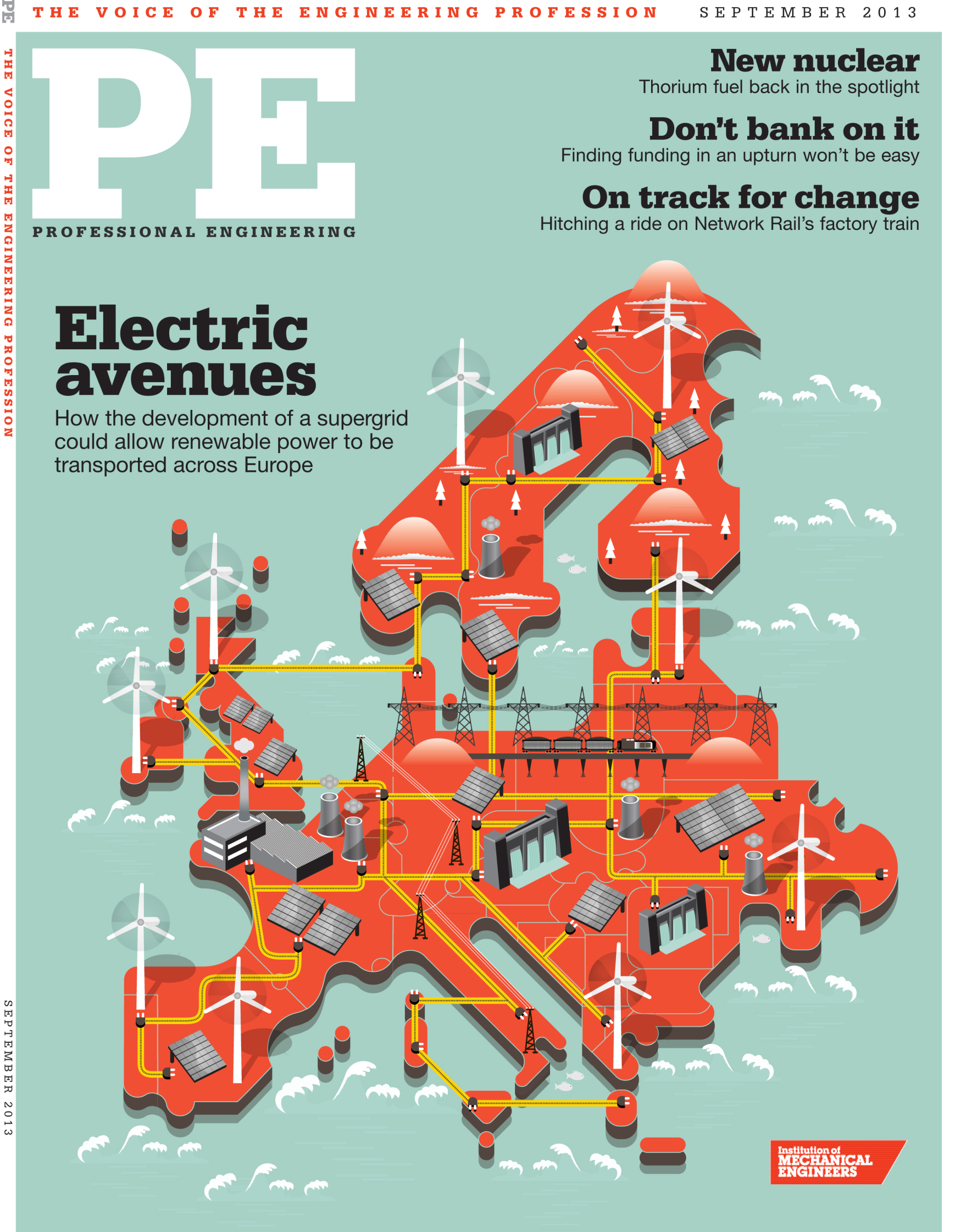 September Cover / Professional Engineering Mag