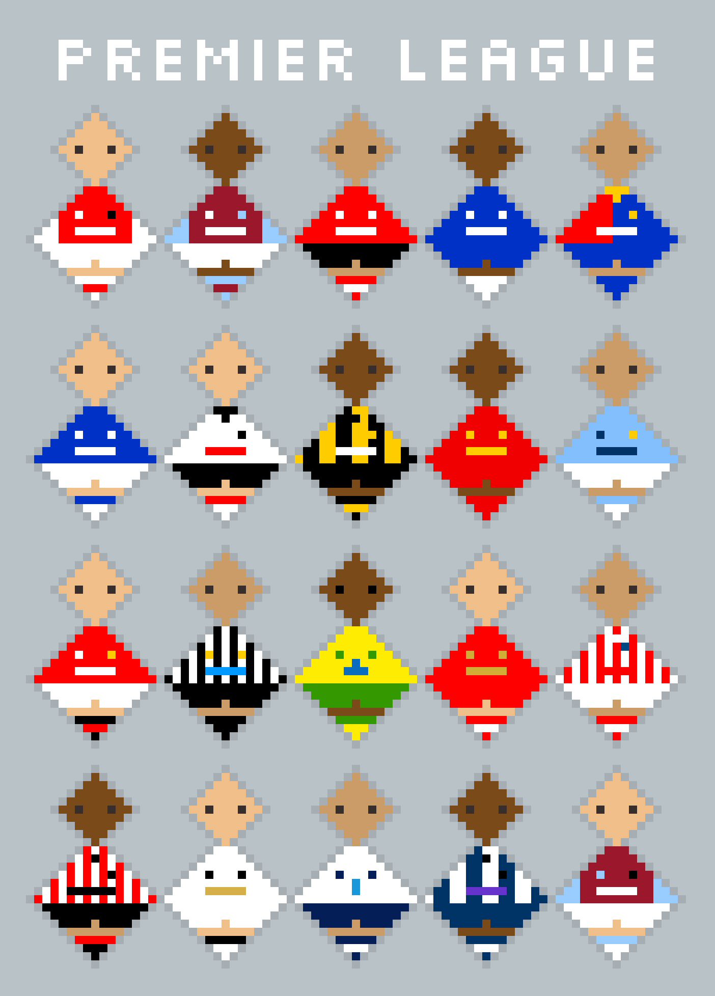 Premier League Kits
