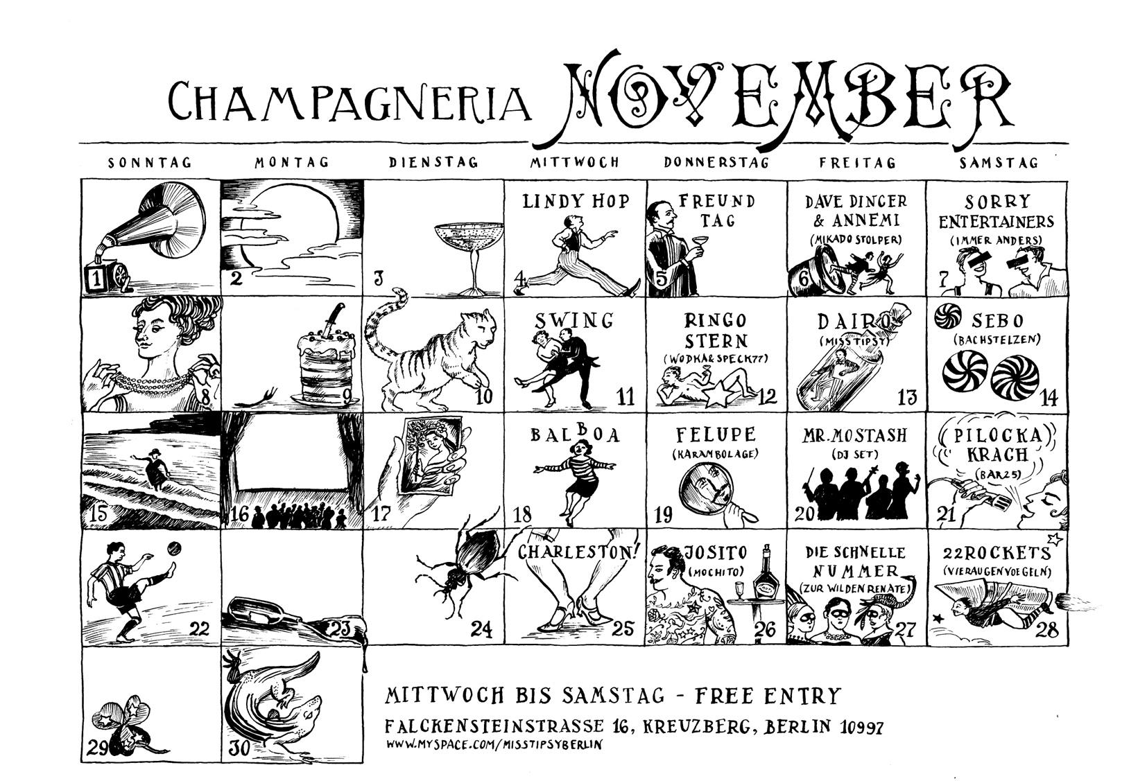 Champagneria November