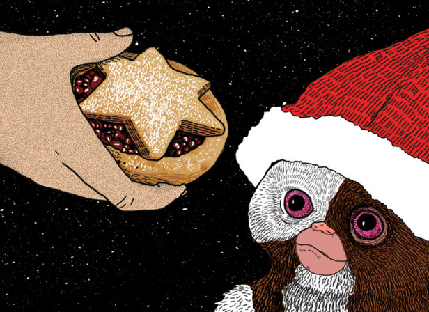Mogwai Christmas Card / QFT
