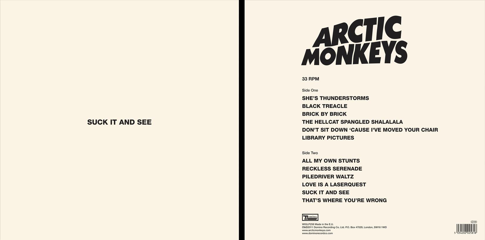 Suck It And See / Arctic Monkeys Album Artwork