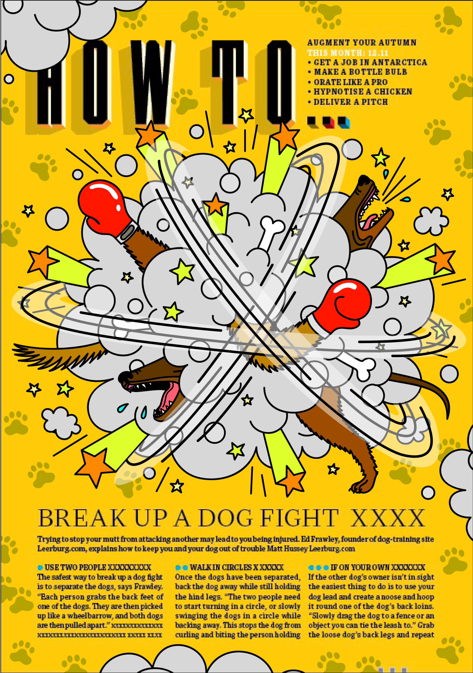 How To.... Break Up A Dog Fight