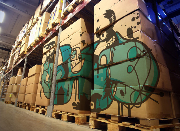 Puppet Show Box Art Bionyc Industries Warehouse Hero73