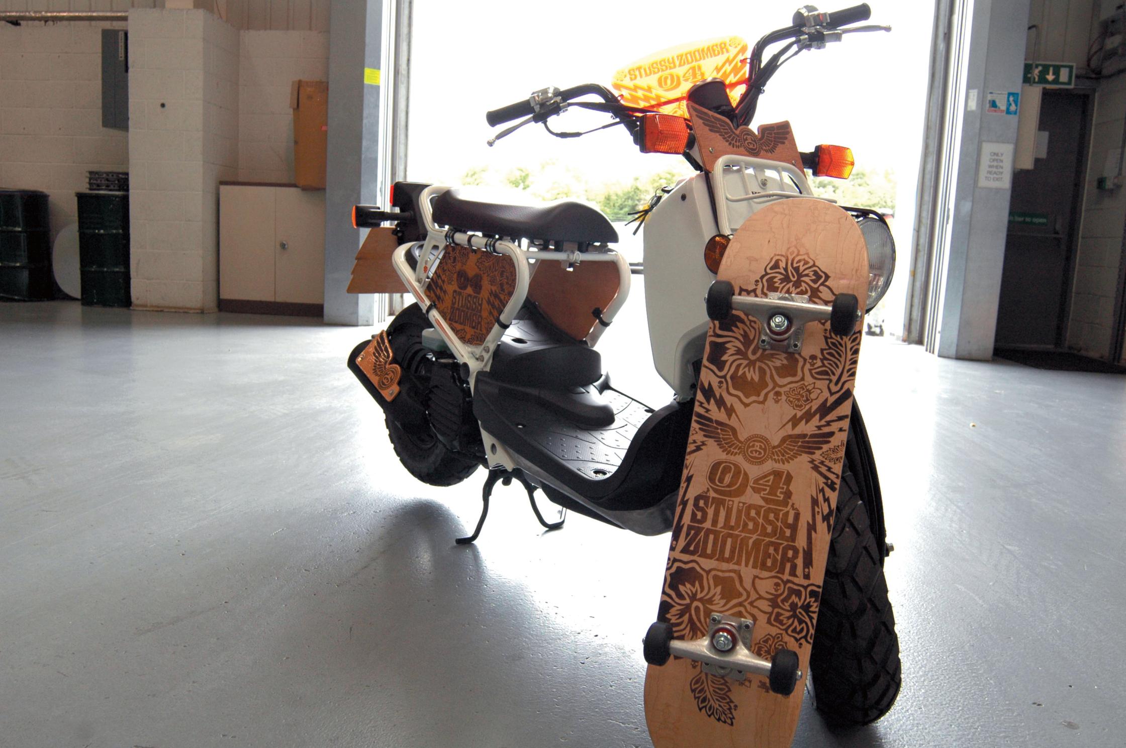 Stüssy Zoomer (Honda) bike
