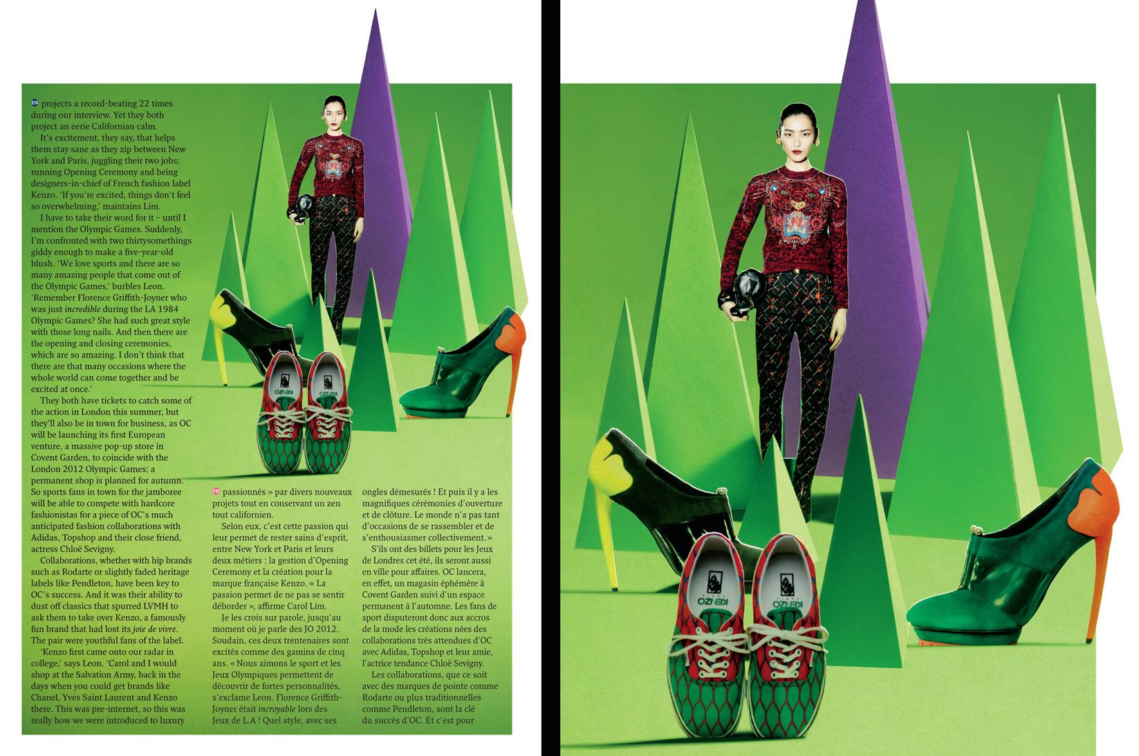 Champions de la Mode Kenzo / Metropolitan Magazine