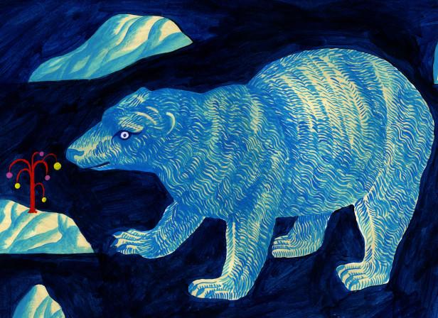 Polar Bear Antarctic Design