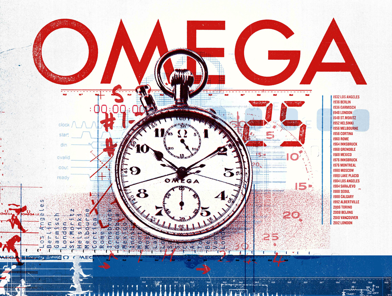 Olympics 2012 / Omega Watches