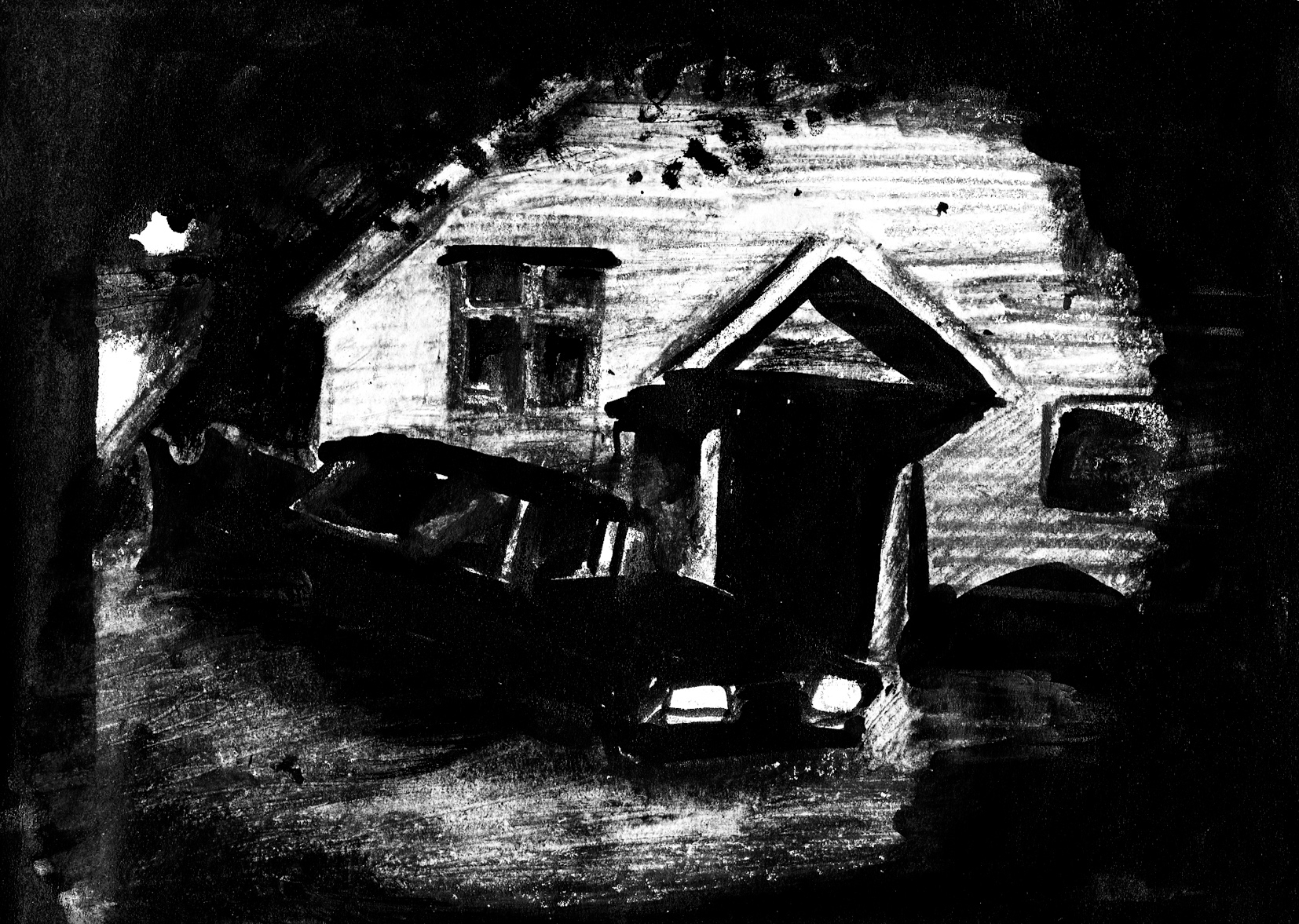 Horror Hotel Noir Car Moody