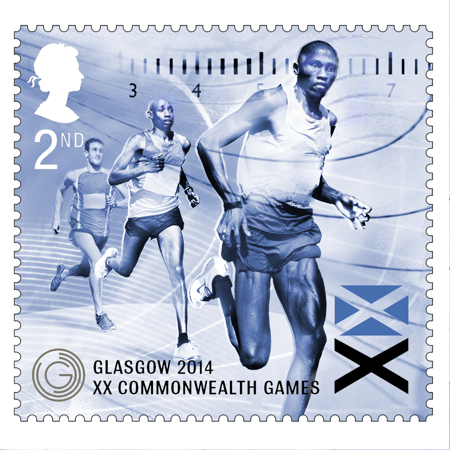 Marathon Royal Mail Stamps